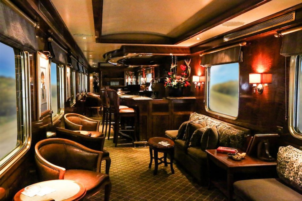 Bar On Royal Orient Train