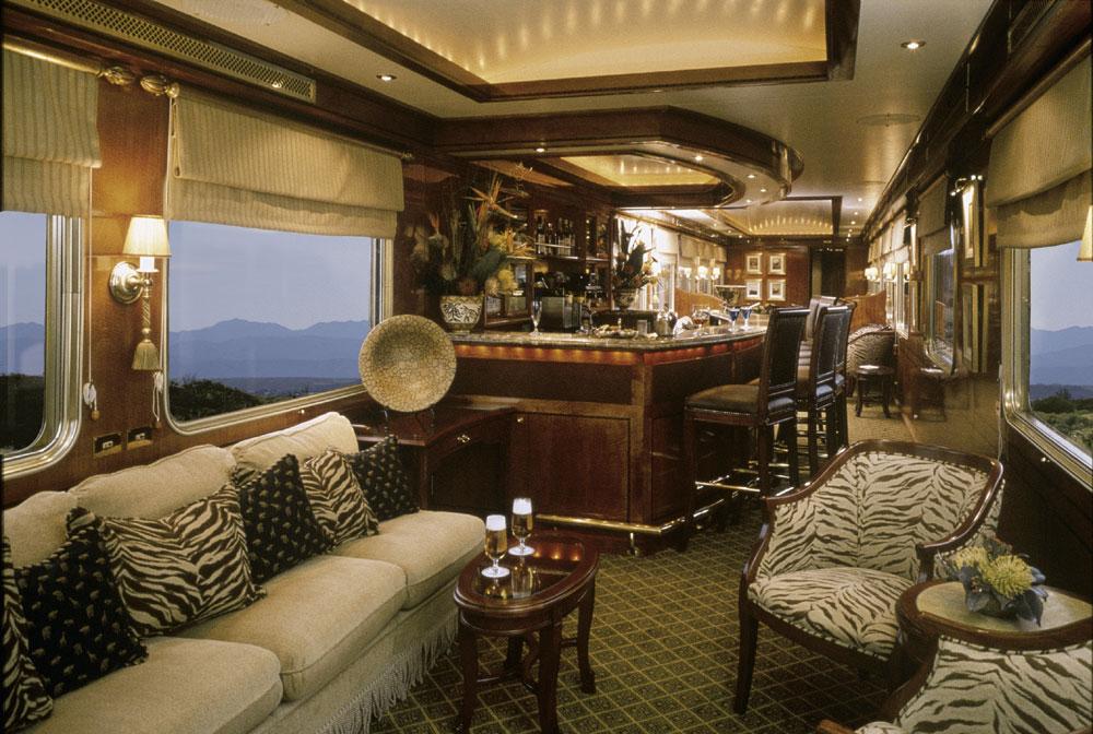 Bar of Golden Chariot Train