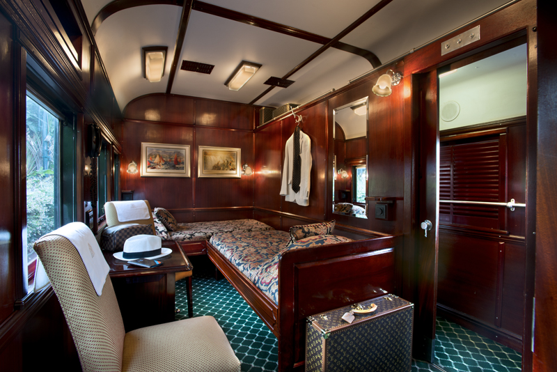 Cabin Of Royal Orient Train