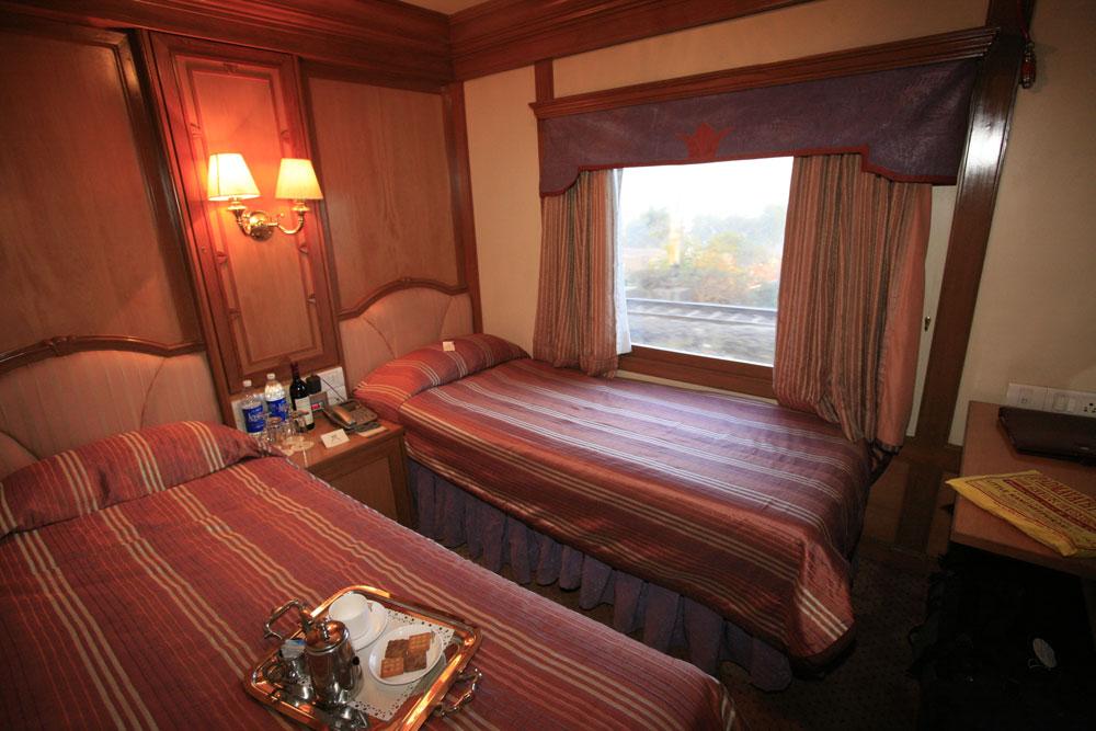 Cabin of Golden Chariot Train