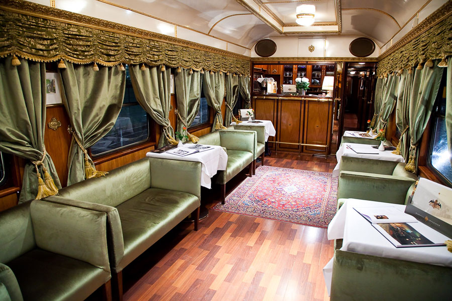 Conference Car In Train
