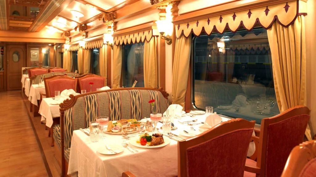 Dining On Deccan Odyssey