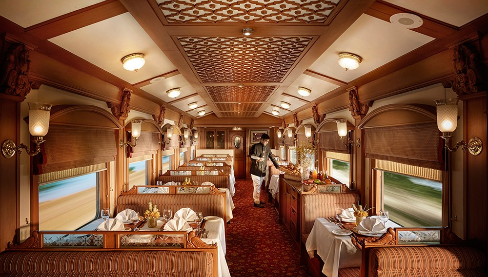 Dining On Train