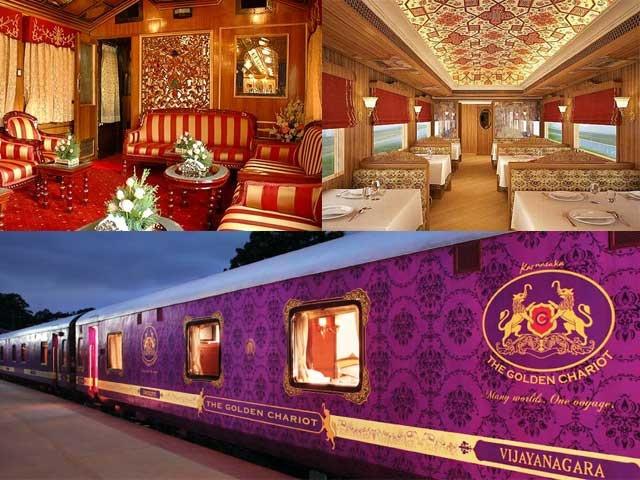 Golden Chariot, Luxurious Train