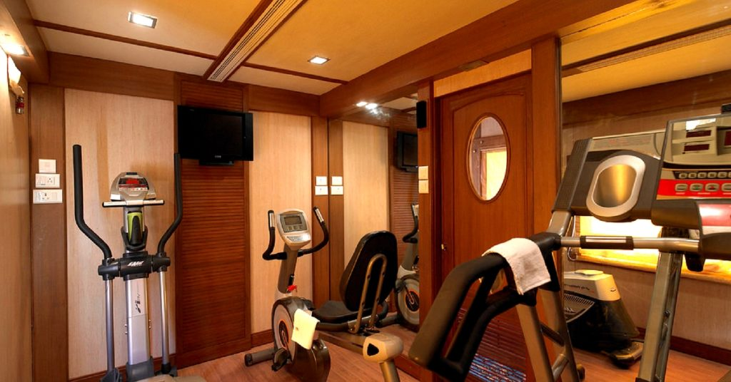 Health and Spa In Golden Chariot Train