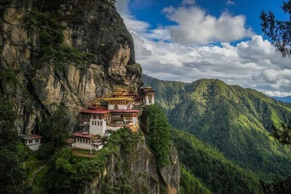 View of Tiger's Nest Monastery, Most Famous and Best Places To Visit in Bhutan