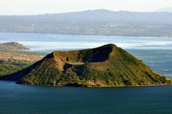 Taal Volcano;