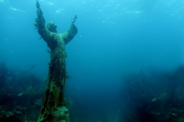 Christ of the Abyss Mysterious Places