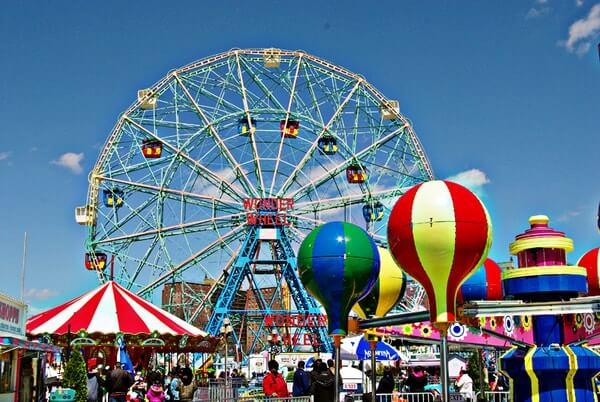 Coney Island; Best Places to Visit in New York