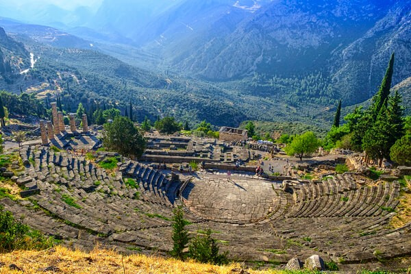 Delphi, Places to visit in Greece