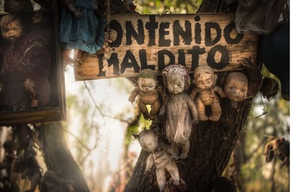 Island of Dolls,  haunted places in world