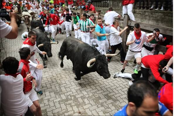 San Fermin Festival | Bull race | Spain , best festivals around the world