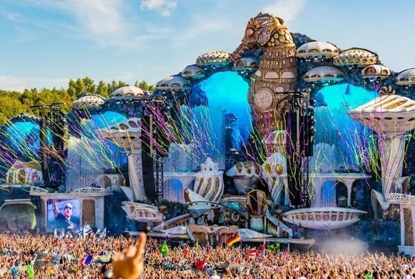 Tomorrowland Festival, best festivals around the world