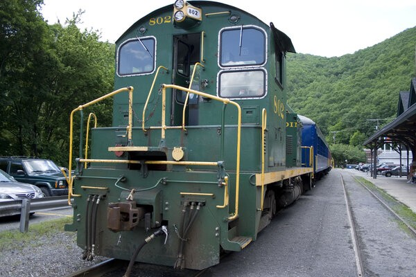 Iconic Jim Thorpe Train, a best places in Pennsylvania to have a joyous ride