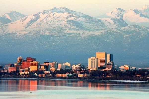 Anchorage city;  famous places to visit in Alaska