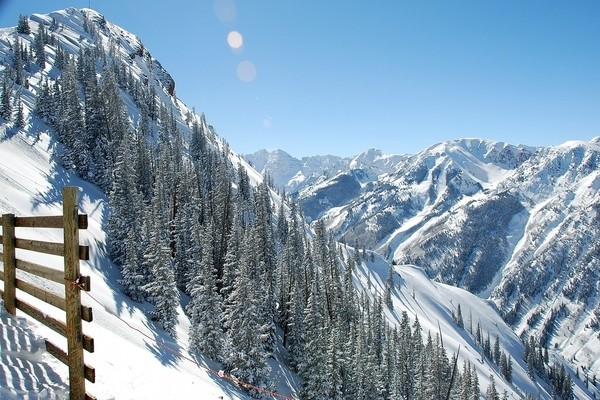 Aspen , best places to visit in colorado in the winter
