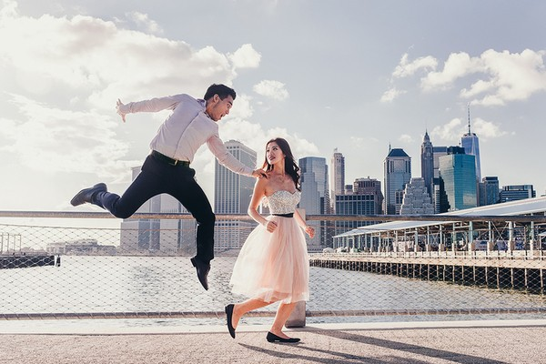 New York, USA romantic places