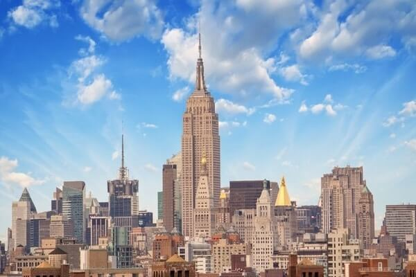 Empire State Building; Tallest Building in The World ; Famous Skyscrapers