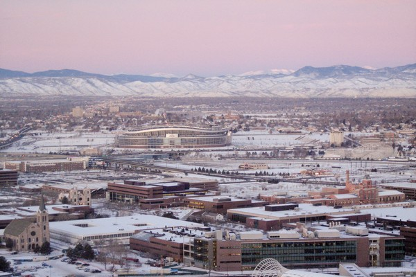 Front Range , best places to visit in colorado in the winter