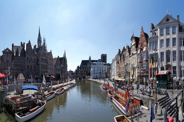 Ghent;Places To Visit In Belgium
