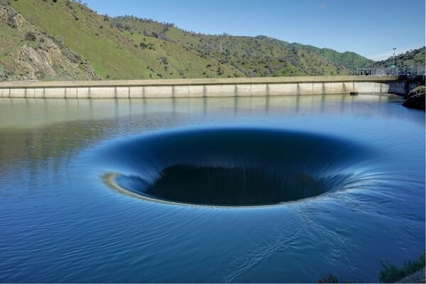 Glory hole; most amazing lake in the world; most unusual lake in the world