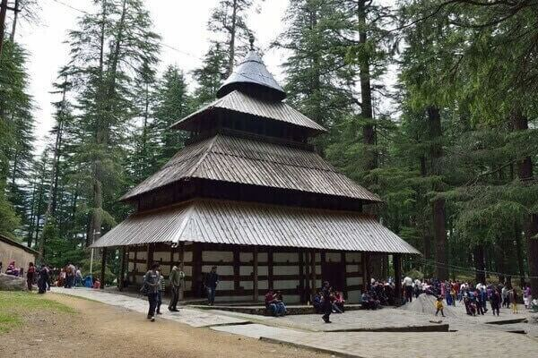 Hadimba Temple, famous temples in himachal pradesh