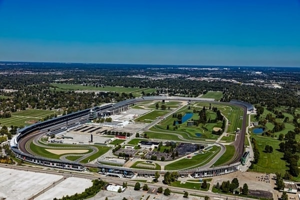 Indianapolis Motor Speedway or Indy 500, world's oldest automobile racing event and what Indiana is Known for.