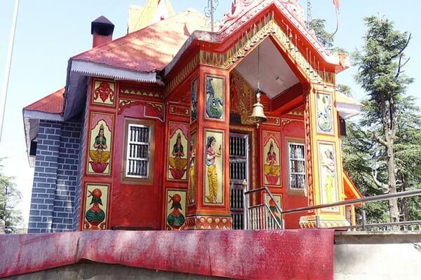 Jakhoo Temple,famous temples in himachal pradesh