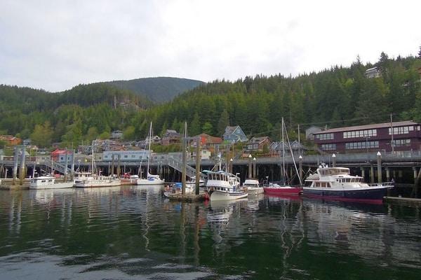 Ketchikan;best places to visit in Alaska