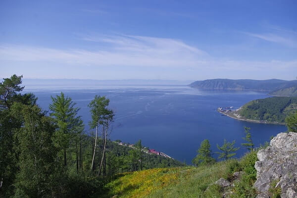 Lake Baikal beautiful Lake