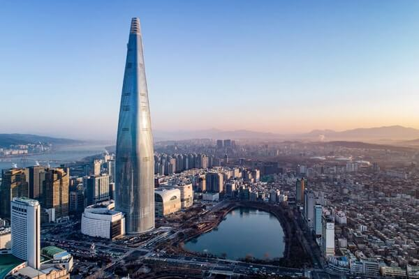 Lotte World Tower; Famous Skyscrapers
