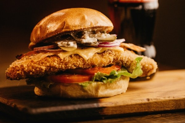 A breaded Pork Tenderloin Sandwich, the sandwich of Indiana