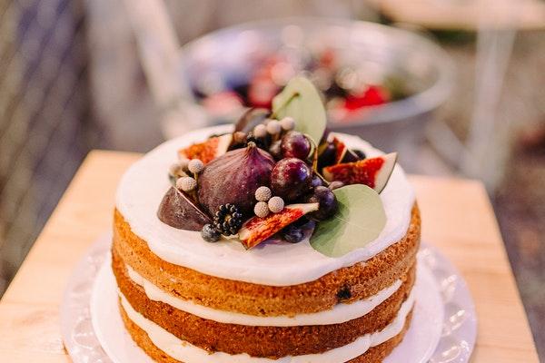 A typical dessert of Sugar Cream Pie