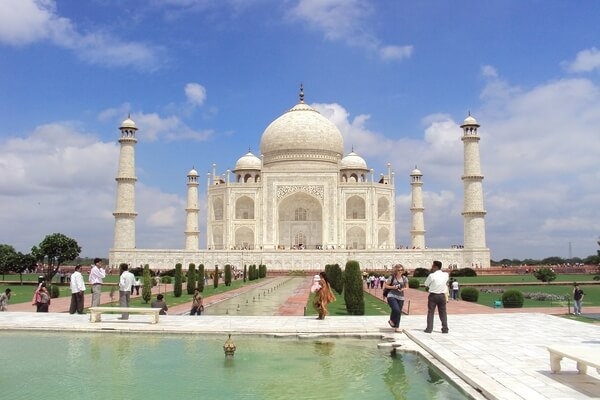 Taj Mahal Agra; Best tourist attraction in India
