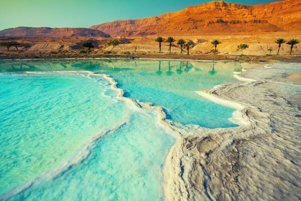 The Dead Sea; beautiful lake