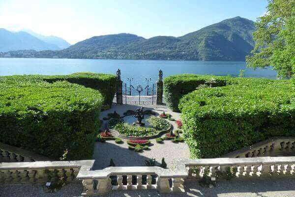 Villa Carlotta Terrace View Of Lake Como