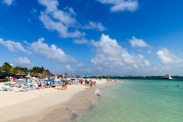 one of the beaches of Isla Mujeres, Best Places To Visit In Mexico