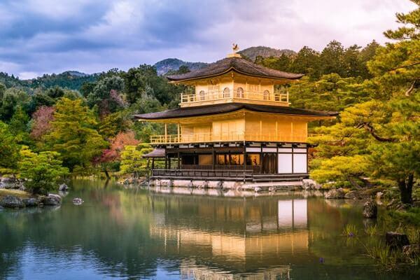 Kyoto Kinkaku-ji temple