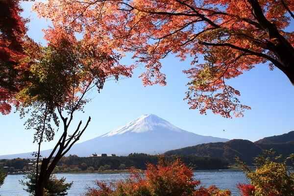 Mt. Fuji; Romantic Places In Japan
