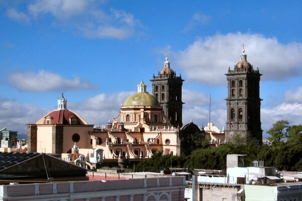 one such pic of the monuments of Puebla ; places to visit in mexico