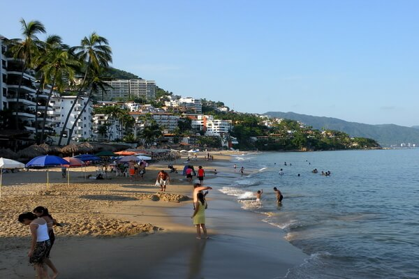 one of the beach of Puerto Vallarta ; Best Places To Visit In Mexico