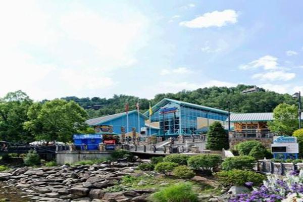 External view of Ripley's Aquarium of the Smokies, Tennessee, U.S
