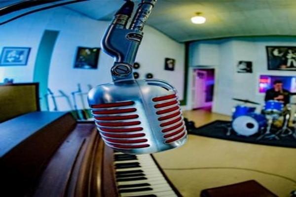 Sun studio in Tennessee, U.S ( a famous recording studio in the world)