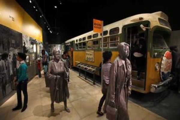 The National Civil Rights Museum in Memphis, Tennessee, U.S