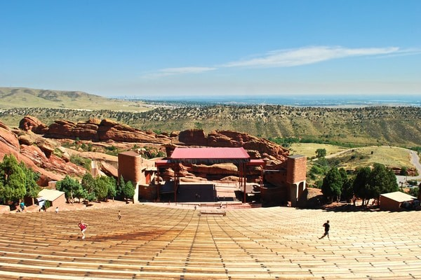 Red Rocks Park and Amphitheater, best day Trips from Denver