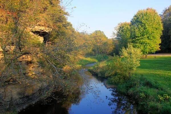 Apple River Canyon State Park, wonderful day trip from Chicago