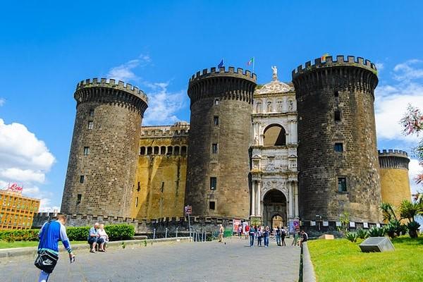 The majestic Castelnuovo (Maschio Angioino), Naples