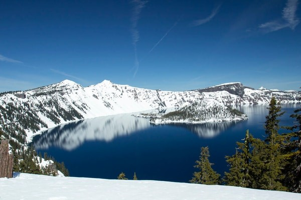 Crater Lake, Oregon known for