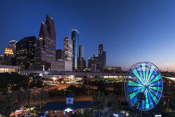 Houston is a chilling places to visit in Texas