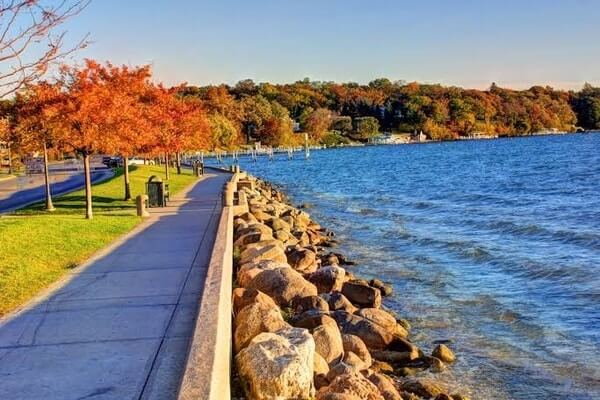 Lake Geneva, weekend day trips from Chicago